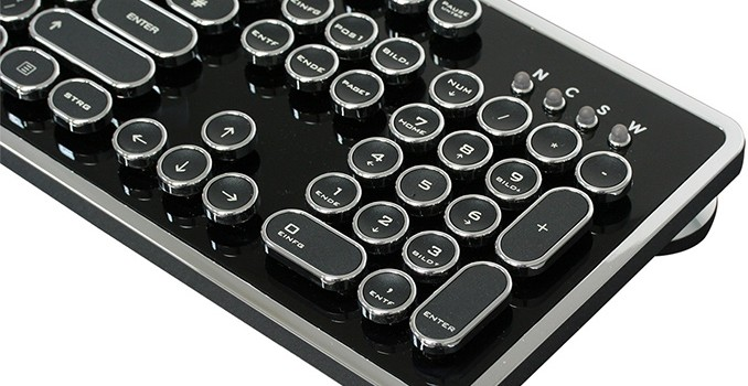 Nanoxia Ncore Retro: Mechanical, Water Resistant, 'Warehouse 13' Style Keyboard