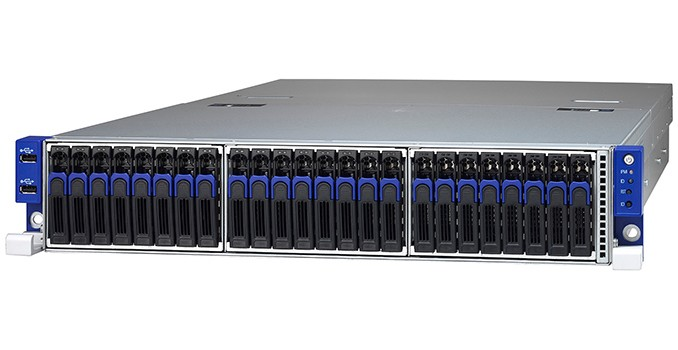 TYAN Announces AMD EPYC TN70A-B8026 Server: 1P, 16 DIMMs, 26 SSDs, OCuLink