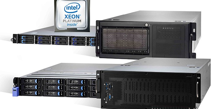 TYAN Shows Two Skylake-SP-Based HPC Servers with Up to 8 Xeon Phi/Tesla Modules