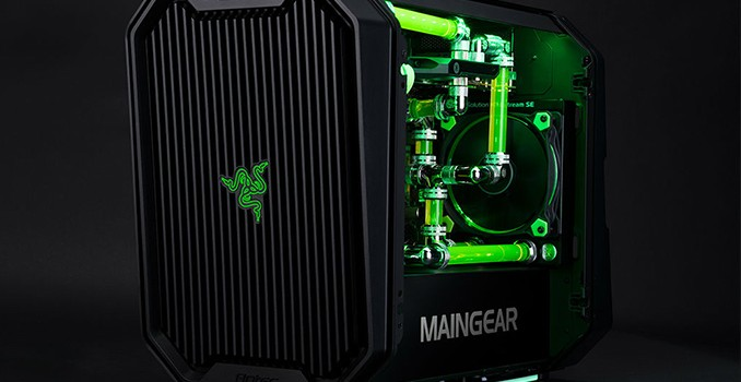 MAINGEAR Launches R2 Razer Edition: Mini-ITX System with AMD Ryzen or Intel Core i7