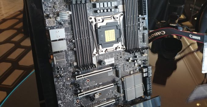 Supermicro at CES 2018: X11SRA Xeon W Motherboard on Display