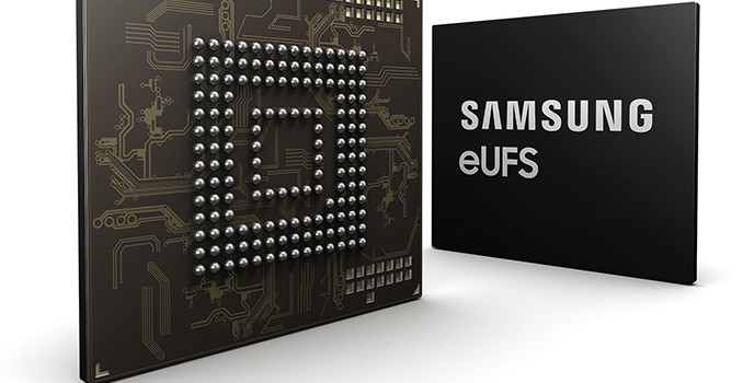 Samsung Begins Mass Production of 256 GB eUFS Devices for Automotive Applications